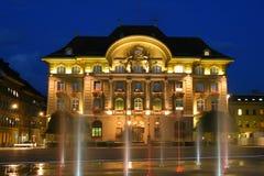 Batería cantonal de Berna Fotografía de archivo libre de regalías