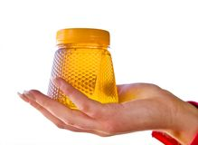 Batería con la miel Imagen de archivo