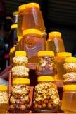 Batería con la miel Imagenes de archivo