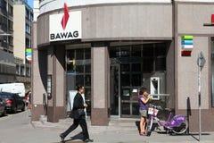 Batería de BAWAG en Austria Imagen de archivo