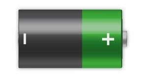 Batería de C ilustración del vector