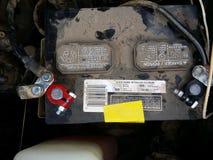 Batería de coche Fotos de archivo libres de regalías