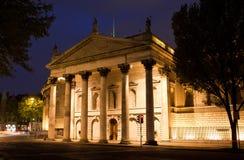 Batería de Irlanda en el verde de la universidad Imagenes de archivo