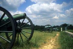 Batería de la artillería de Napoleon fotos de archivo