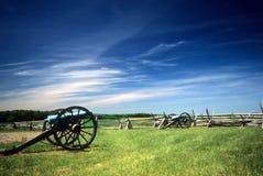 Batería de la artillería de Napoleon Fotos de archivo libres de regalías