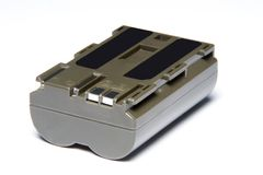 Batería de la cámara Foto de archivo libre de regalías