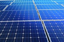 Batería de la célula solar Fotos de archivo libres de regalías
