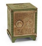Batería de la caja fuerte del juguete Fotos de archivo libres de regalías