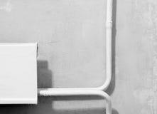 Batería de la calefacción en sitio Foto de archivo libre de regalías