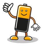Batería de la potencia Imagenes de archivo