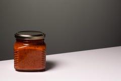 Batería del alimento conservado imágenes de archivo libres de regalías