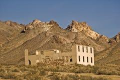 Batería del pueblo fantasma Foto de archivo libre de regalías