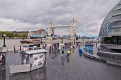 Batería del sur, Londres Foto de archivo libre de regalías