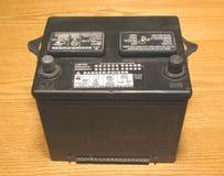 Batería del vehículo Imágenes de archivo libres de regalías