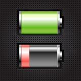 Batería dos ilustración del vector