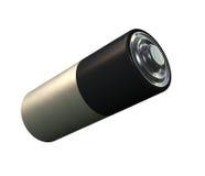 Batería en blanco Imagenes de archivo