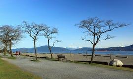 Batería española Vancouver Fotografía de archivo libre de regalías