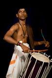 Batería indio joven Imagen de archivo libre de regalías