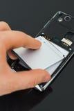 Batería para teléfono móvil Imagenes de archivo
