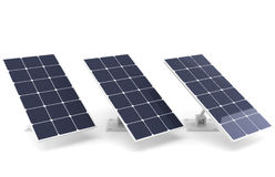 Batería solar Fotos de archivo libres de regalías