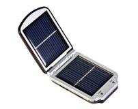 Batería solar móvil Imagenes de archivo