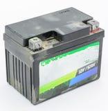 batería vieja 12V Imagen de archivo libre de regalías