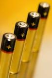 Baterías 03 Fotografía de archivo libre de regalías