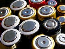 Baterías Fotografía de archivo