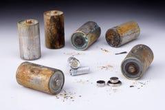 Baterías Foto de archivo