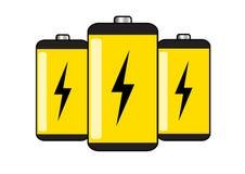 Baterías Foto de archivo libre de regalías