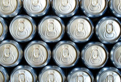 Baterías con la cerveza Imagenes de archivo