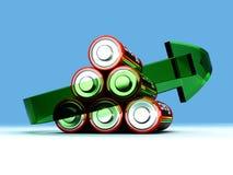 Baterías de Rechargable libre illustration