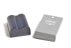 Baterías recargables Imagen de archivo