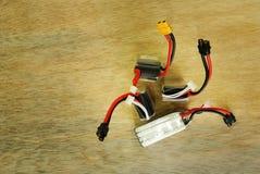 Baterías recargables del nuevo polímero de litio Fotografía de archivo libre de regalías