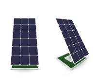 Baterías solares Imagen de archivo
