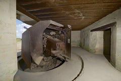 Batería de sur Mer de Longues Imágenes de archivo libres de regalías