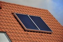 batería Solar-accionada Imagen de archivo libre de regalías