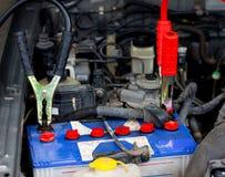 Bateria de carro inoperante 1 foto de stock