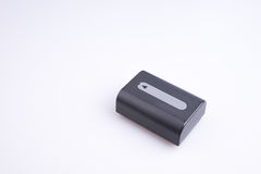 A bateria de lítio Fotos de Stock Royalty Free