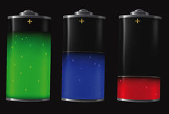 bateria elektryczna Zdjęcie Stock