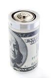 Custo alto para a energia imagens de stock