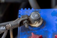 Bateria oxidada imagem de stock royalty free