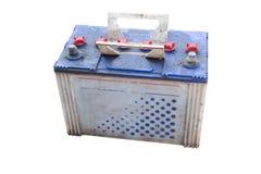 Bateria - pozytyw i negatyw (Z ścinek ścieżką) Fotografia Stock