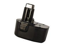 Bateria recarregável da ferramenta Fotografia de Stock