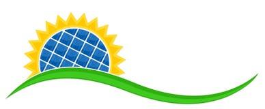 A bateria solar Fotografia de Stock
