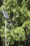 Bateria solar Fotografia de Stock