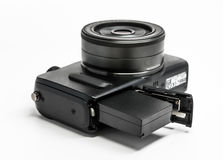 Bateria w kamerze Zdjęcie Stock