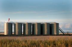 Bateria zbiorniki obrazy stock