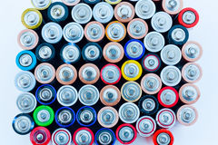 Baterias da energia Imagem de Stock