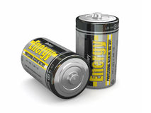 Baterias da energia Foto de Stock Royalty Free